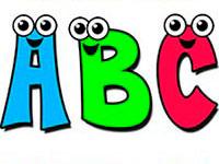 Раскраски Английский алфавит