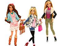 Раскраски Барби модница