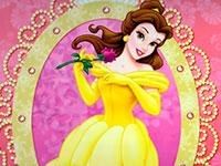 Раскраски Принцесса Белль