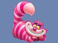 Раскраски Чеширский кот