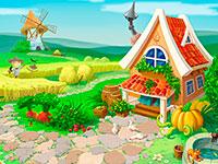 Раскраски Деревня