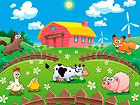 Раскраски Ферма