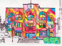 Раскраски Города