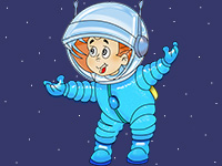 Раскраски Космонавт