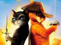 Раскраски Кот в сапогах