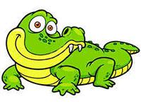 Раскраски Крокодил