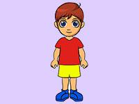 Раскраски Мальчик