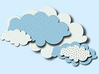 Раскраски Облака