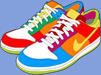 Раскраски Обувь
