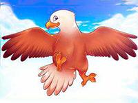 Раскраски Орёл