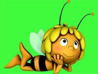 Раскраски Пчёлка Майя