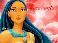 Раскраски Покахонтас