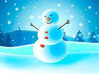Раскраски Снеговик