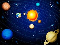 Раскраски Солнечная система