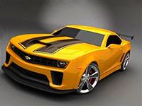 Раскраски Спортивные машины