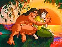 Раскраски Тарзан