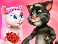 Раскраски Том и Анжела
