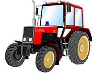 Раскраски Тракторы