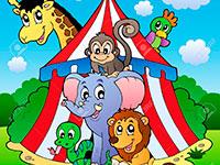 Раскраски Цирк