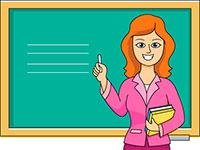 Раскраски Учитель