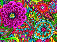 Раскраски Сложные узоры