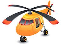Раскраски Вертолёты