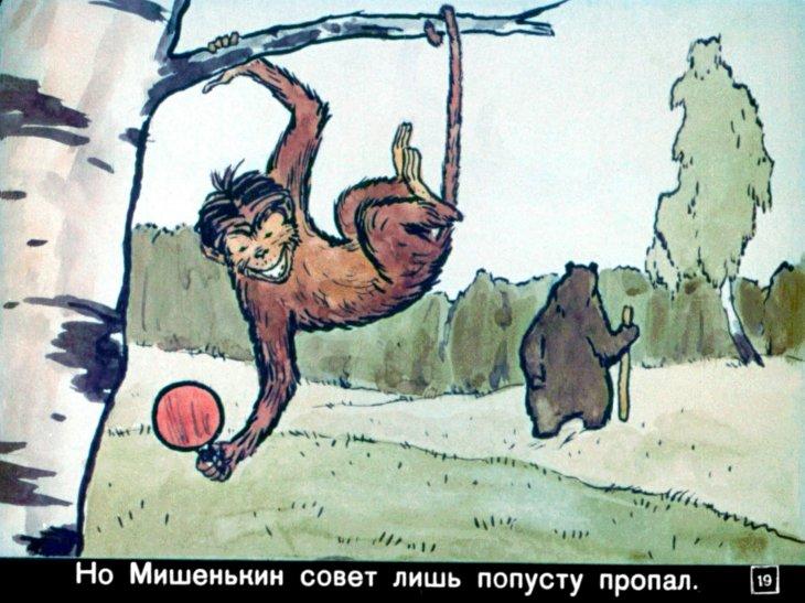 картинки к басне зеркало и обезьяна карандашом ней приказано срочно