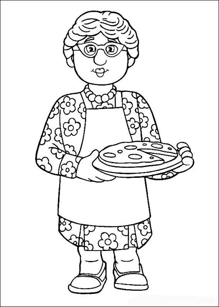 Нарисовать открытку ребенку бабушке, днем уис