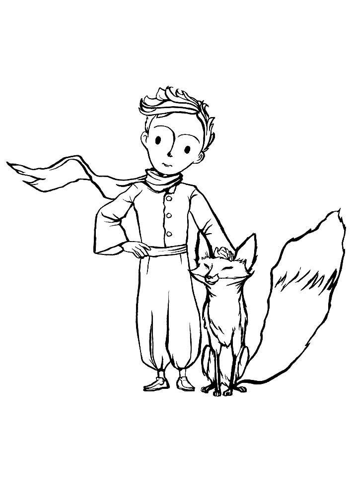 Маленький принц рисунки карандашом легкие