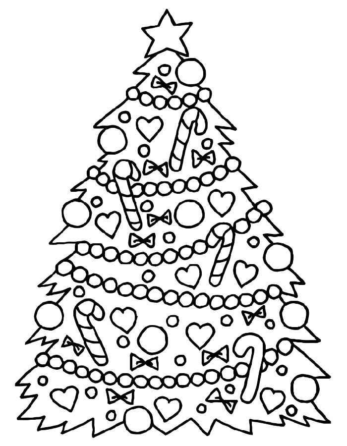 Картинки, рисунок новогоднюю елку