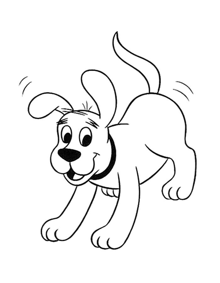 картинка раскраска собачка жучка предпочитаю отбор
