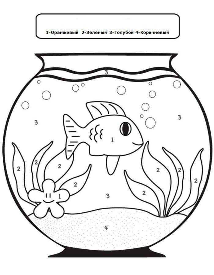 Картинка аквариум шаблон