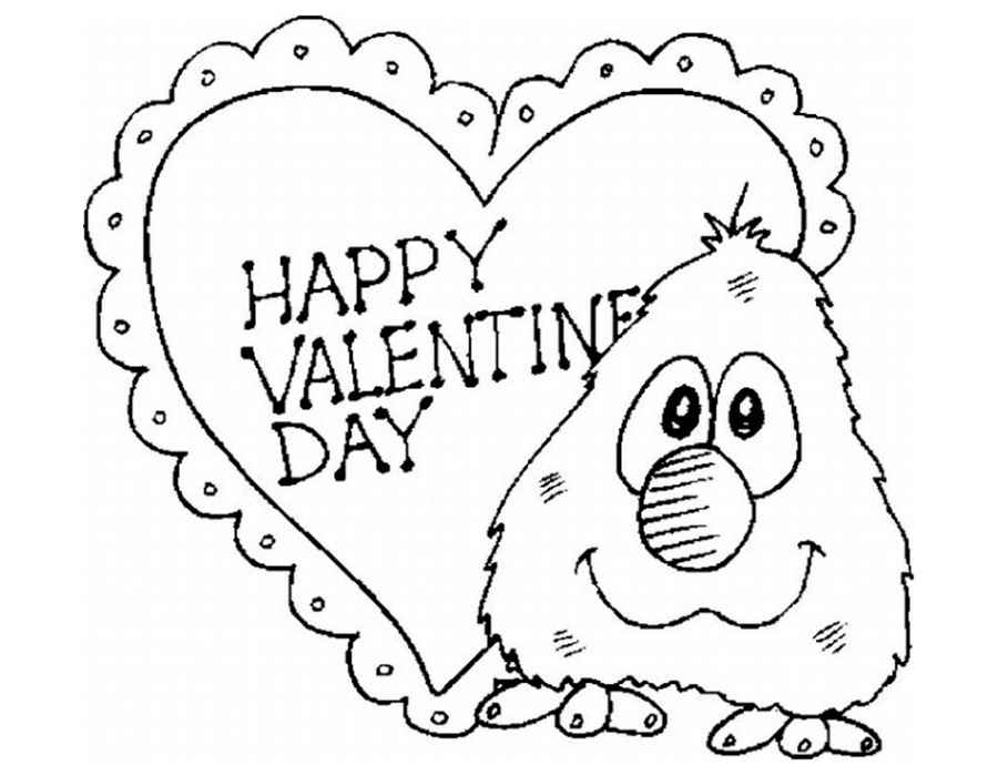Рисуем открытку на день святого валентина, яблочным спасом анимация