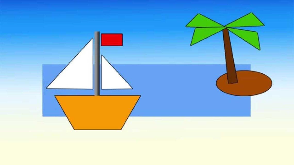 Идеи на тему «Геометрические аппликации» (59): геометрические фигуры, детские поделки, поделки малышей