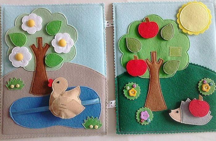 книжка своими руками для детского сада