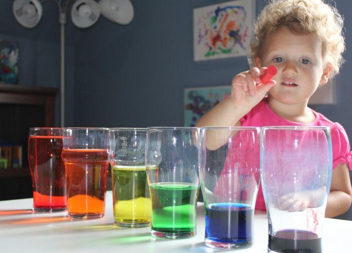 эксперименты в домашних условиях для детей