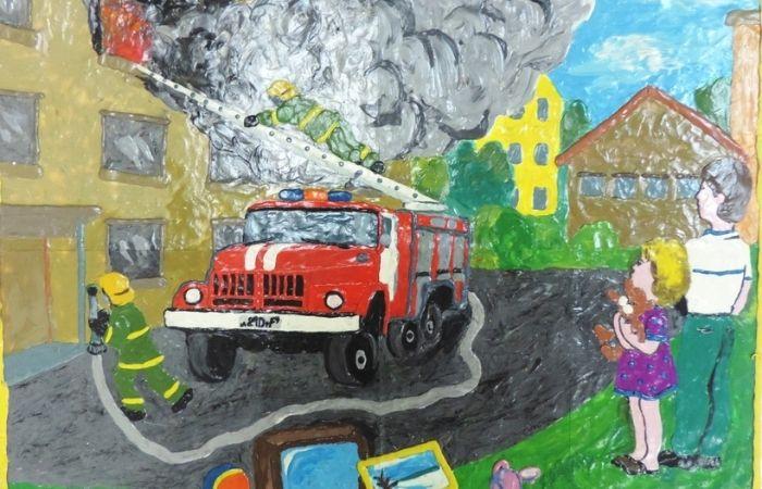 огнетушитель картинка для детей