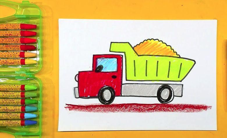 Как нарисовать машину карандашом: легкая инструкция для детей и начинающих
