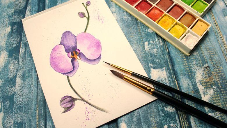Как нарисовать цветок: легкий поэтапный метод рисования своими руками