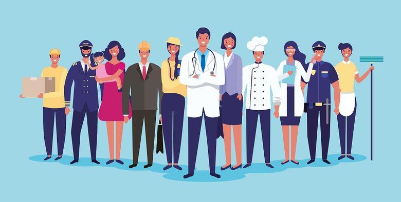 Тема профессии: картинки с профессиями, труд взрослых