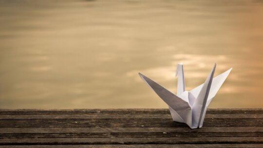 Оригами журавлик своими руками: инструкция для начинающих с картинками